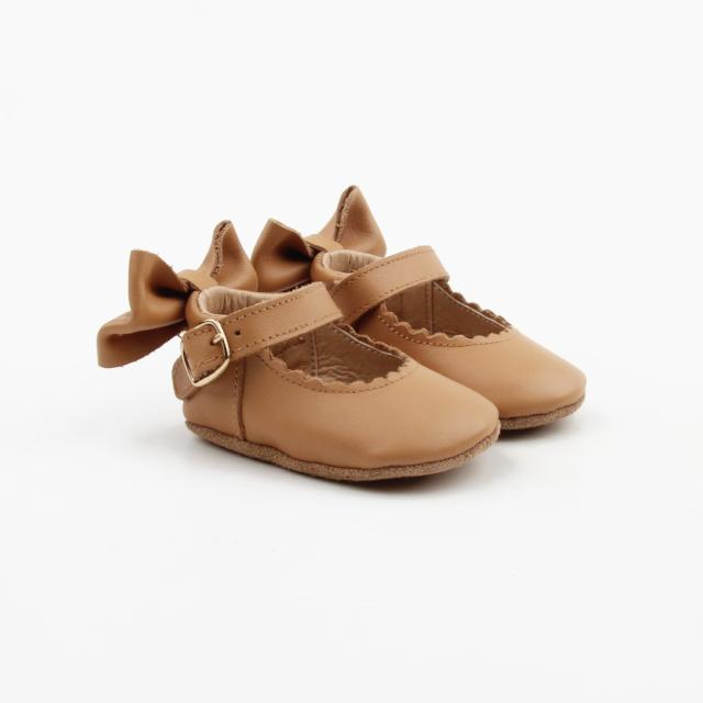 'Birthday Suit' Dolly Shoes - Baby Soft Sole