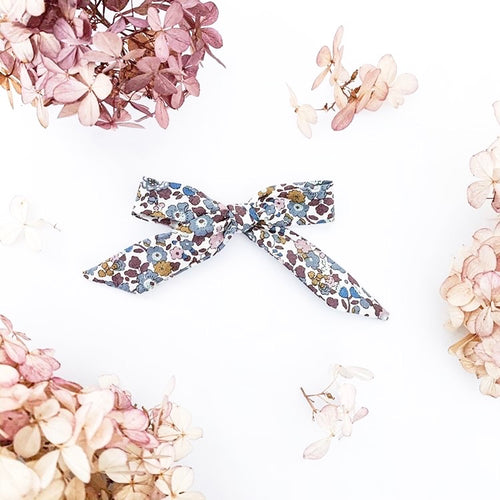 'Betsy Anne Blue' Liberty Hair Bow