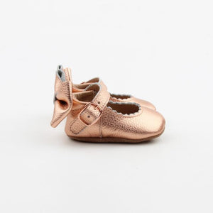 'Dolly-Rose' Dolly Shoes - Baby Soft Sole