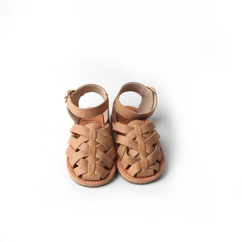 'Palomino' Gypsy Sandals - Toddler Hard Sole