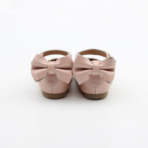 'Vintage Pink' Dolly Shoes - Hard Soles