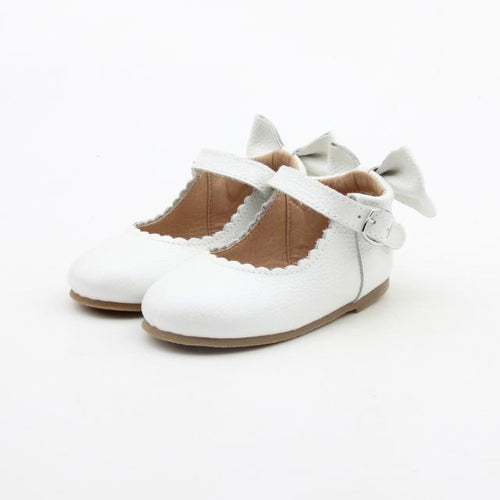 'Pearl' Dolly Shoes - Toddler Hard Sole