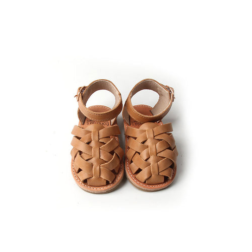 'Sandalwood' Gypsy Sandals - Toddler Hard Sole