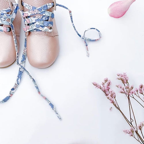 'Betsy Blue' Liberty Laces