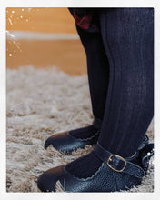 Load image into Gallery viewer, 'In The Navy' Dolly Shoes - Baby Soft Sole