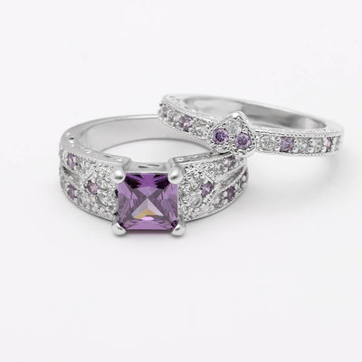 June Birthstone Luxury Ring