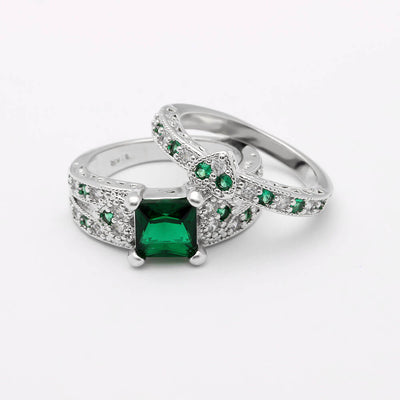 May Birthstone Luxury Ring