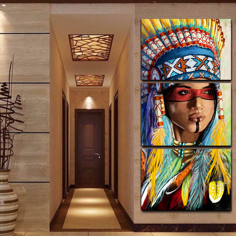 Native American Pride Canvas