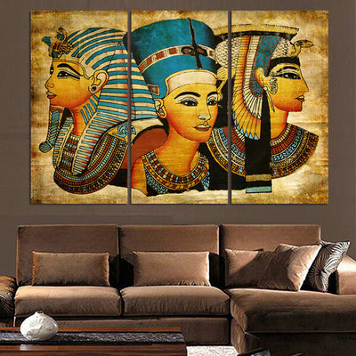 pharaohs of egypt canvas fancota. Black Bedroom Furniture Sets. Home Design Ideas