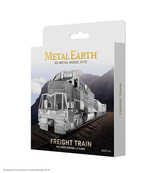 Gift Box Freight Train
