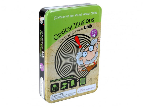 Crazy Scientist Lab-Optical Illusions