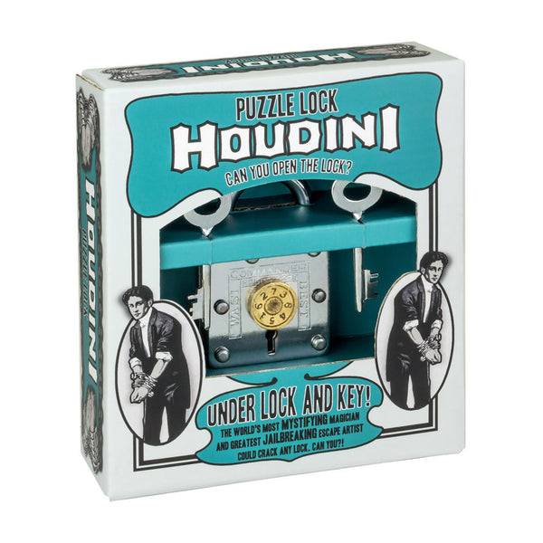 Houdini Under Lock and Key