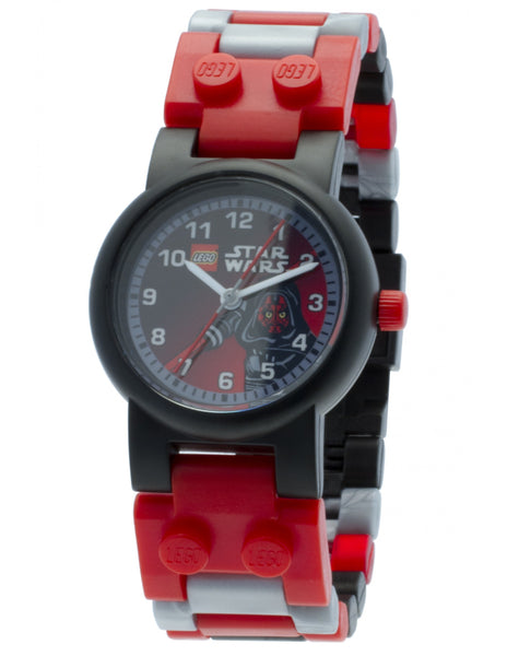 Star Wars Darth Maul watch + minifig
