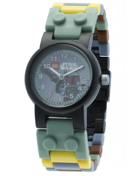 Star Wars Boba Fett watch + minifig