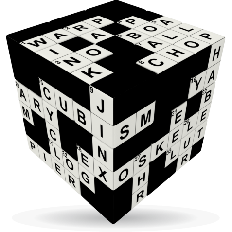 V-Cube Crossword 3 Flat