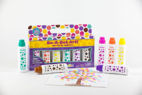 Do-A-Dot 6-Pack Mini Dot Island Bright