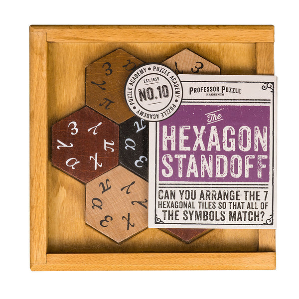 Puzzle Academy The Hexagon Standoff