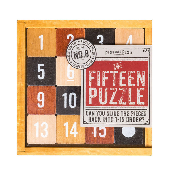 Puzzle Academy The Fifteen Puzzle