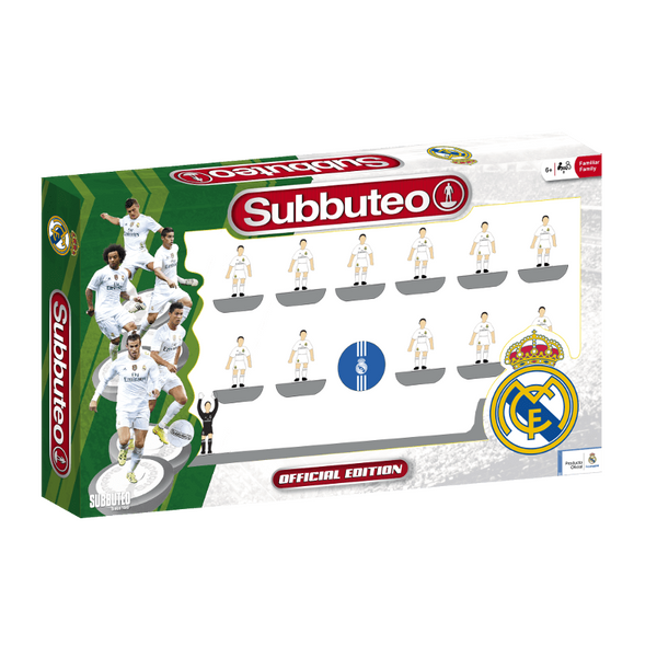 Real Madrid Home Team Set