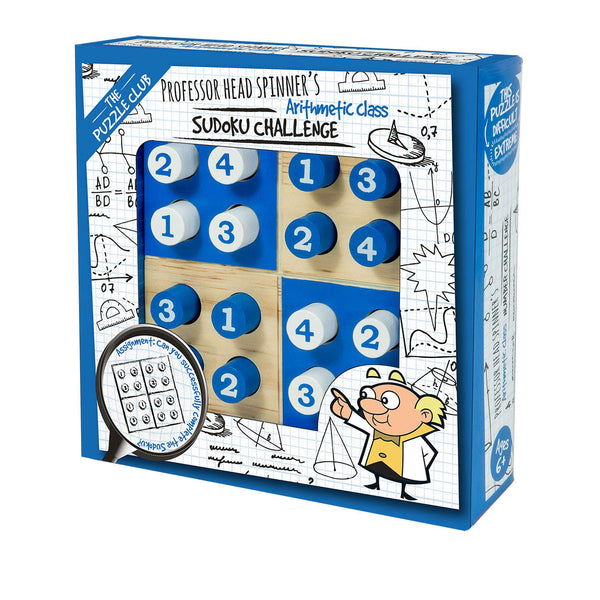 The Puzzle Club Professor Head Spinner's Sudoku Challenge