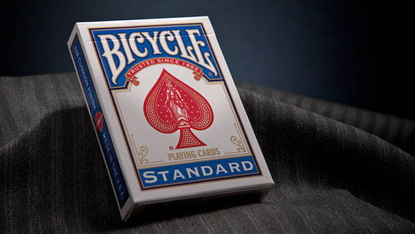Bicycle Classic Rider Back BLUE with BLUE seal