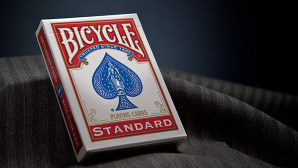Bicycle Classic Rider Back RED with BLUE seal