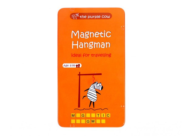 Magnetic Travel Games-Hangman