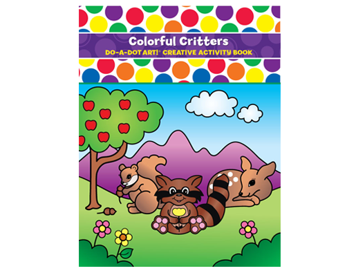 Colorful Critters Coloring Book