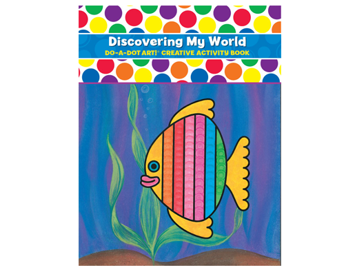Discover My World Coloring Book