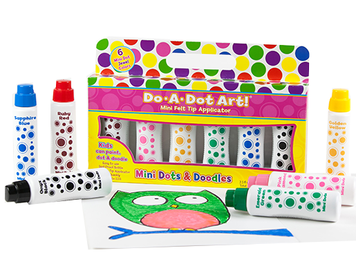 Do-A-Dot 6-Pack Mini Dot Jewel Tones