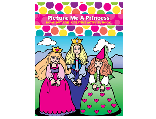 Picture Me A Princess Coloring Book