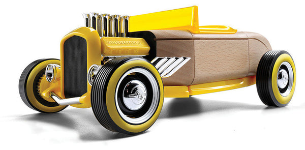 Mini HR-2 Hot Rod Roadster (Yellow)