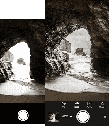 adobe lightroom for iphone photography app raw hdr capture mode