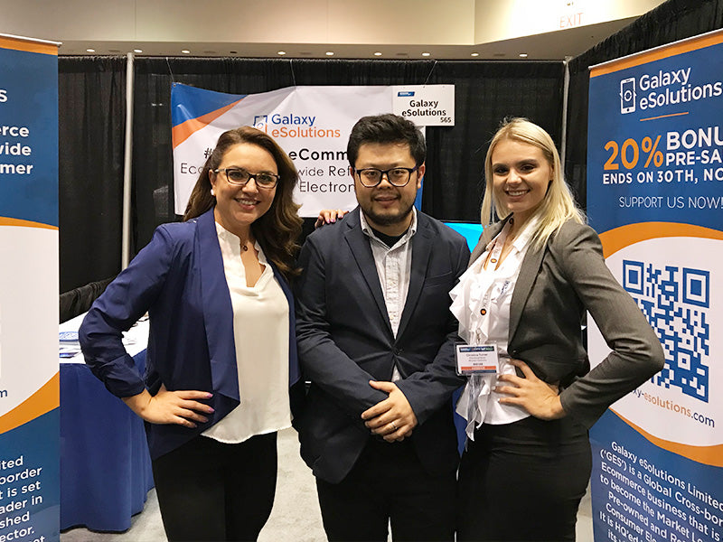 Galaxy eSolutions at Block Chain EXPO USA 3/5