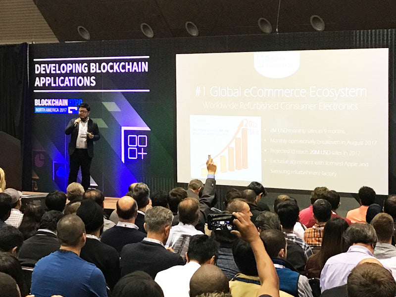 Galaxy eSolutions at Block Chain EXPO USA 4/5