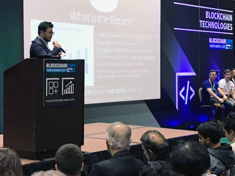 Galaxy eSolutions at Block Chain EXPO USA 5/5