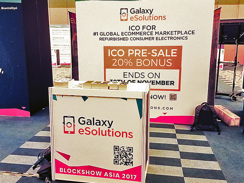 Galaxy eSolutions at Block Show Asia 2/5