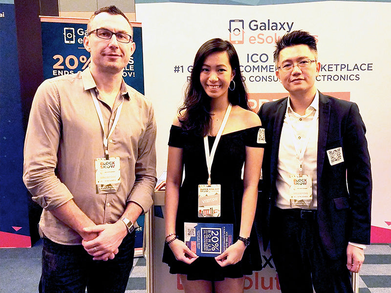 Galaxy eSolutions at Block Show Asia 4/5