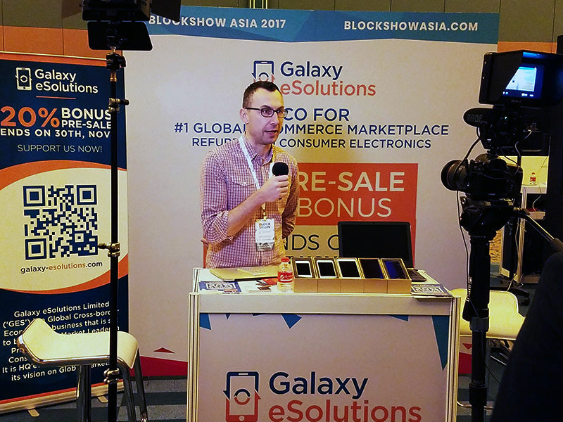 Galaxy eSolutions at Block Show Asia 5/5