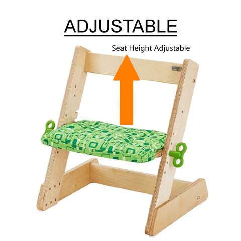 Toddler's adjustable chair