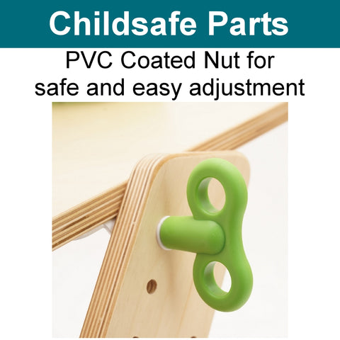 PVC coated butterfly adjustable nut Ergo Kid2youth