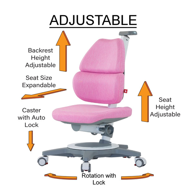 Children Chair with Ergonomic Features