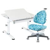 Ergonomic Furniture Bundle M6Plus XS and Babo Chair Blue