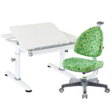 Ergonomic Furniture Set M6Plus XS and Babo Chair Green