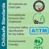 School Desk meeting child safe standards in Europe and USA