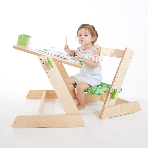 Toddler Play Set with Adjustable seats and Table Top