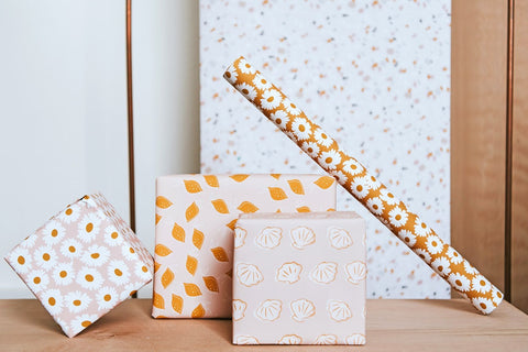 Field of Daisies Wrapping Paper