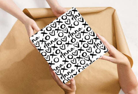 Personalised XOXO Wrapping Paper