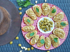 Green Olive Tapenade with Rueda