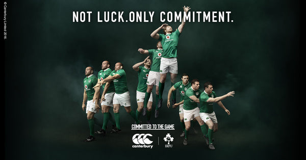 Canterbury unveil new Ireland Rugby Home Shirt 2016/17